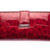 Portfel damski czerwony cieniowany lakierowany Jennifer Jones
