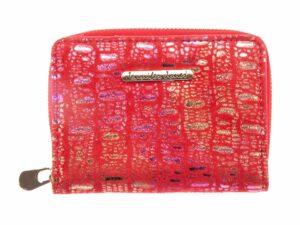 Mały miękki portfel damski błyszczący Jennifer Jones