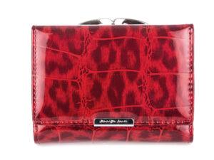 Portfel cieniowany czerwony Jennifer Jones